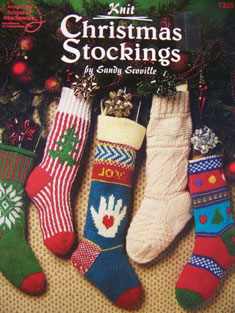 Holiday Stocking - Knitting Patterns and Crochet Patterns