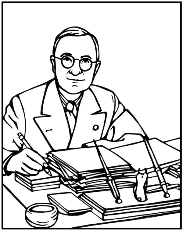 blackline christmas coloring pages - photo#22