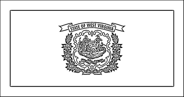 west virginia coloring pages - photo#6