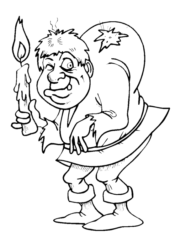 hunchback coloring pages - photo#3