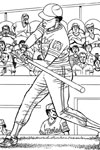 Minnesota Twins Batter baseball coloring page
