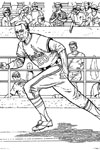 Cardinals Runner baseball coloring page