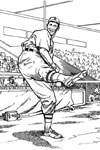 And the Wind Up baseball coloring page
