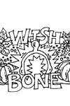 turkey wishbone coloring page
