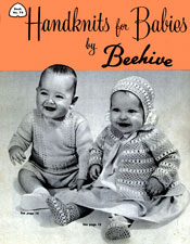 Handknits for Babies by Beehive | Book No. 78