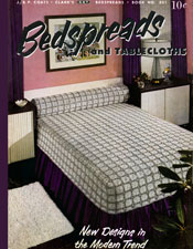 bedspreads and tablecloths