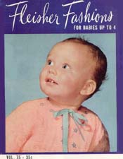 For Babies Up To 4, Fleisher Fashions Volume 75