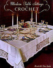 Modern Table Settings in Crochet