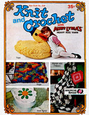 knit and crochet in rug yarn