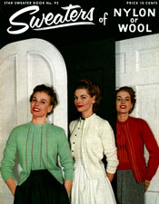 sweaters of nylon or wool