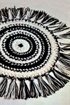 hairpin lace circular rug pattern