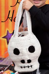 scary skull halloween bag