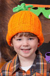 knit pumpkin hat pattern