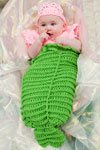baby mermaid cocoon