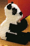 panda clippie pattern