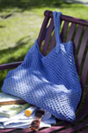 crochet beach bag