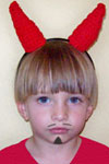devil halloween headband