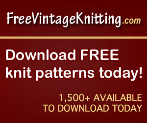 free knit patterns