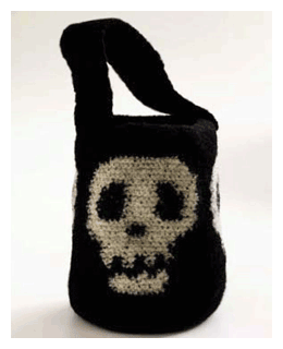 skull candy halloween bag pattern