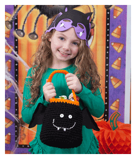 happy bat halloween bag pattern