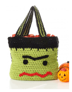 monster trick or treat bag pattern