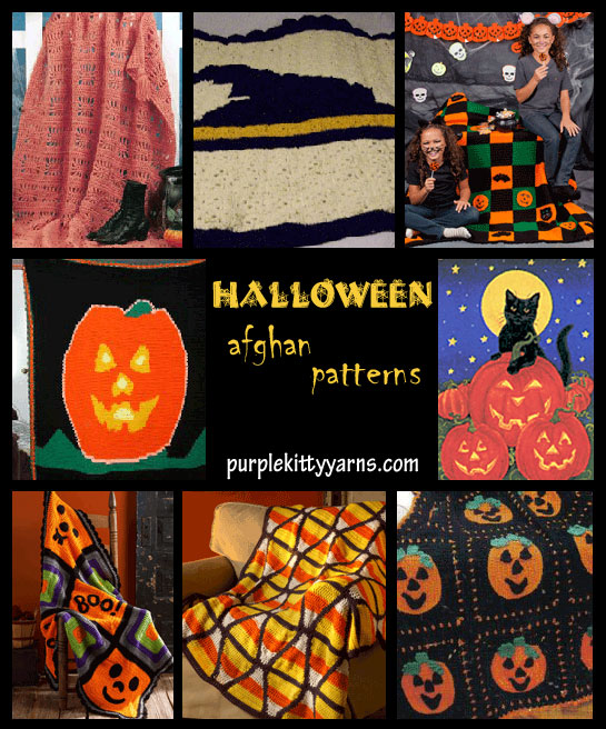 halloween afghan patterns