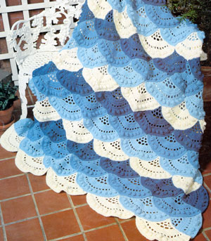 Free Online Christmas Crochet Afghan Patterns : 12 AFGHAN BABY CROCHET PATTERN POINT STAR Crochet Patterns