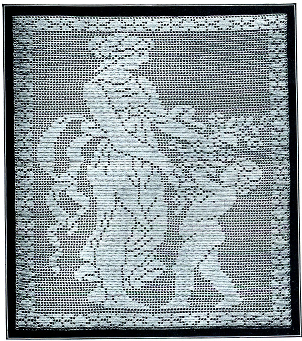 Free Filet Crochet Patterns : Free Crochet Pattern Filet Butterfly Yoke With Pic And Chart Pictures ...