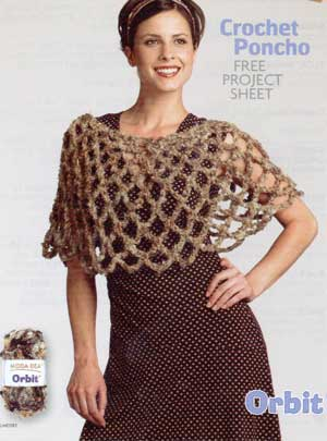 Free Crochet Poncho Pattern - LoveToKnow: Answers for Women on