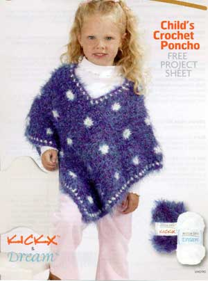 CROCHETED CHILDS CAPE PATTERN - Crochet Club