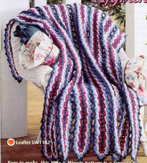 Mile A Minute Baby Afghan Patterns - Best Knitting Design