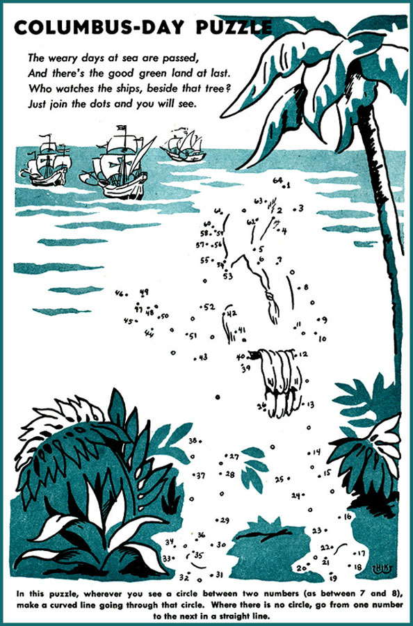 Pirate Ship Dot to Dot | Pirate ships, Worksheets and ... |Columbus Connect The Dots