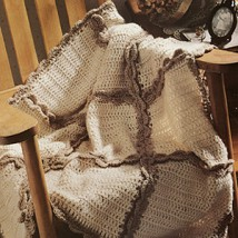Teaching Hands: Shirley's crocheted lap-robes