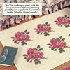 victorian rug pattern for plastic canvas