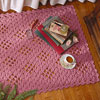 lacy diamonds rug and runner crochet pattern