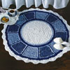 blue plate special rug crochet pattern