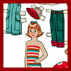 growing up dolls paper dolls
