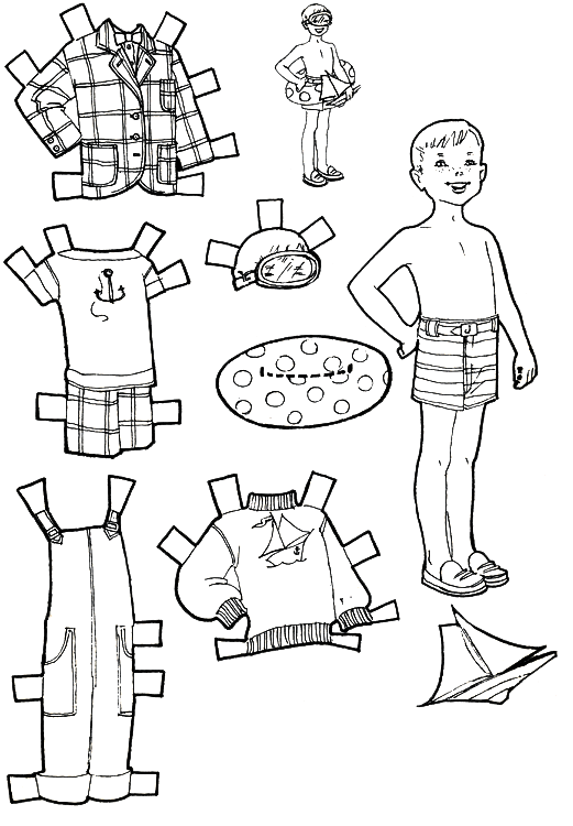 kids cut out coloring pages - photo#29