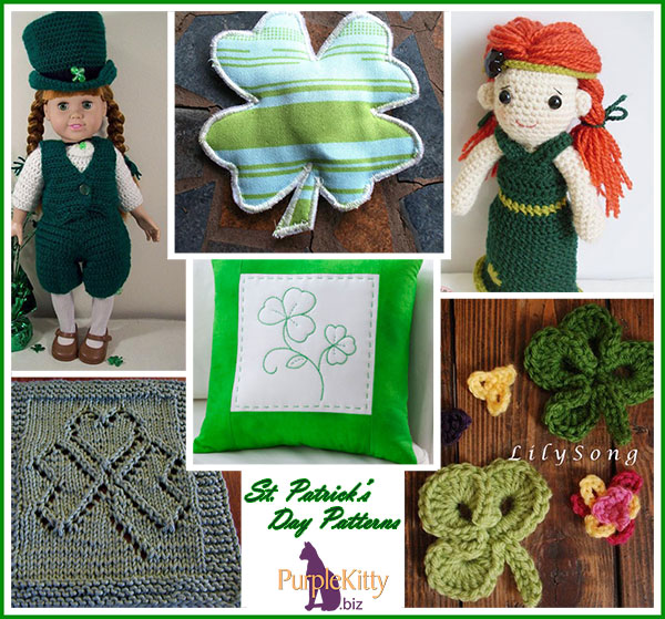 St Patricks Day patterns