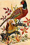The Pheasants Cross Stitch Pattern