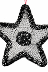 Glitter Star Ornament Pattern
