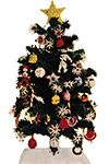 Yarn Christmas Tree and Crochet Christmas Ornaments Patterns