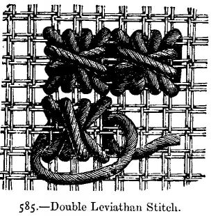 Double Leviathan Stitch.
