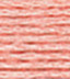 dmc brilliant tatting cotton thread peach
