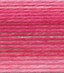 dmc brilliant tatting cotton thread variegated pink