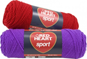 red heart sport yarn skeins