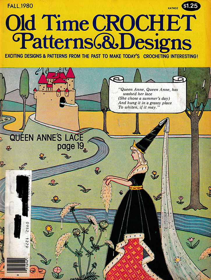 Old Time Crochet Patterns & Designs Magazine | Fall 1980
