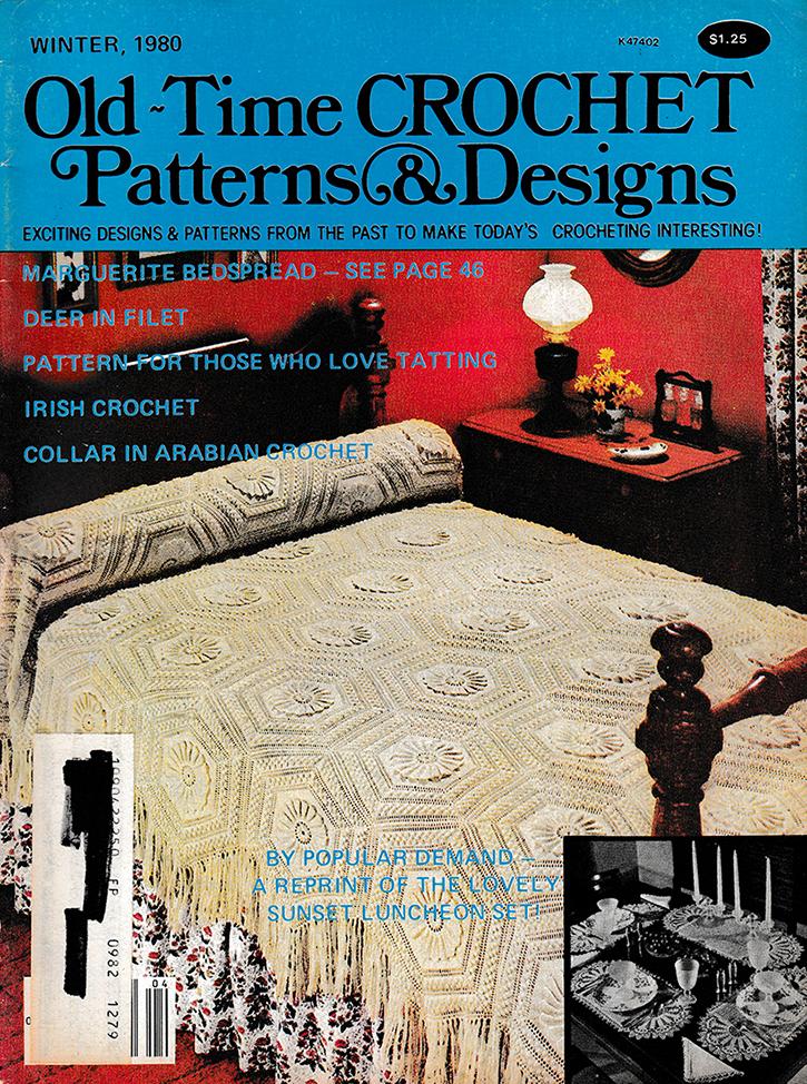 Old Time Crochet Patterns & Designs Magazine | Winter 1980
