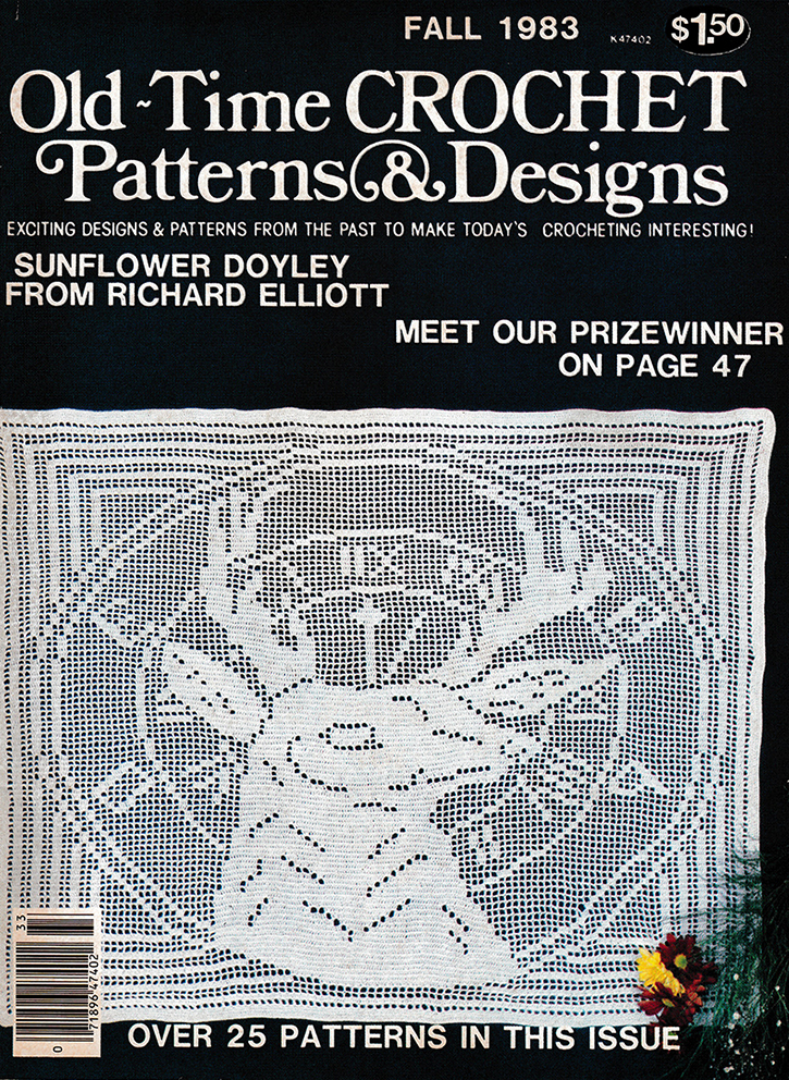 Old Time Crochet Patterns & Designs Magazine | Fall 1983
