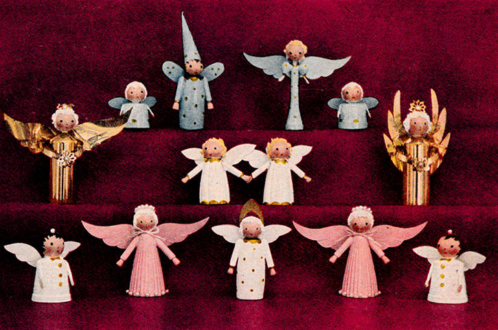 Angel Choir Figures Instructions and Pattern